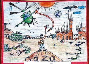 Gaza-Zeichnung