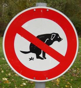 Schild_Hundehaufen_1
