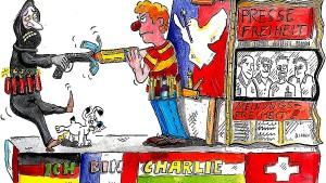 Kölner Karneval stoppt Motivwagen zu «Charlie Hebdo»